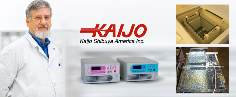ultrasonic cleaning systems from kaijo
