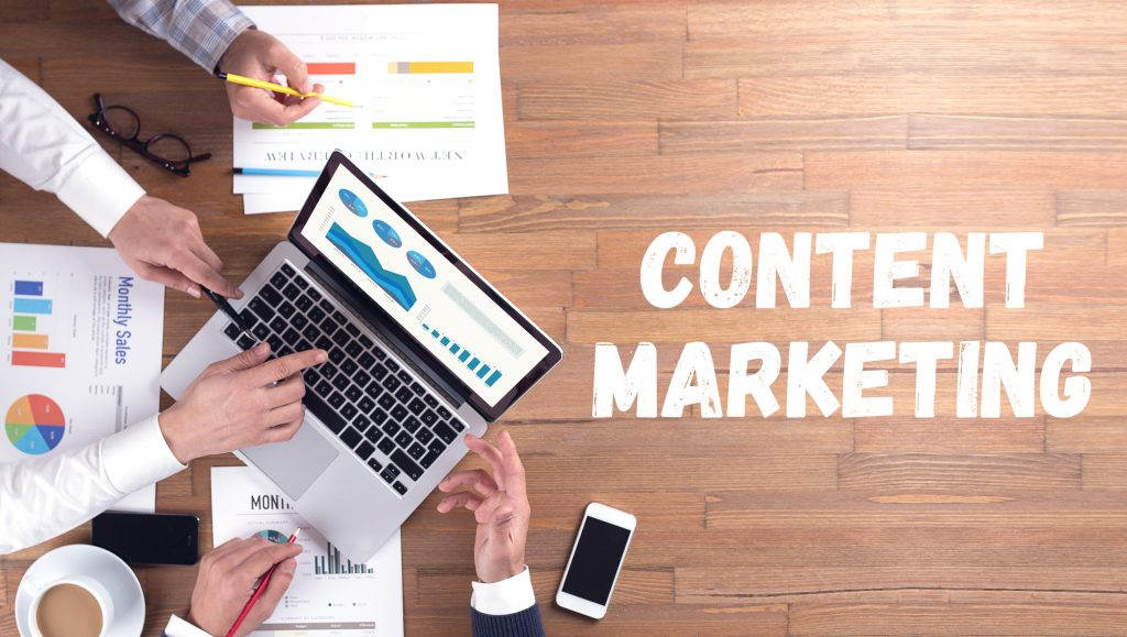 Online Content Marketing Concepts
